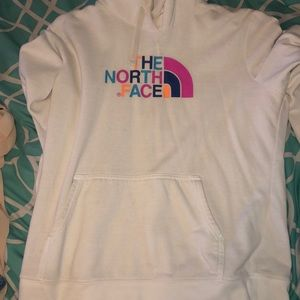 The north face sweatshirt.